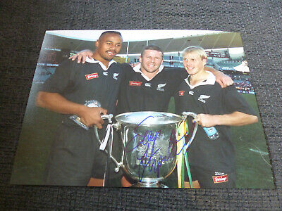 SEAN FITZPATRICK signed 8x11 autograph RUGBY Photo InPerson 2020 Berlin