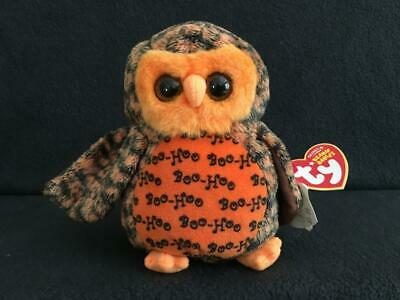 - MWMTs 5.5 inch SNOWDROP the Snowy Owl Internet Exclusive TY Beanie Baby