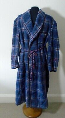 Vintage Wool Men's Dressing Gown / Robe Grenville British Made