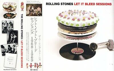 The Rolling Stones / Let It Bleed Sessions / 2CD With OBI STRIP / Sealed!