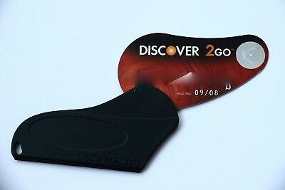 Expired 09/2008 Discover 2Go Bank USA Credit Card with Cover Holder Limited
