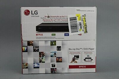 LG BPM35 Blu-ray Disc Player