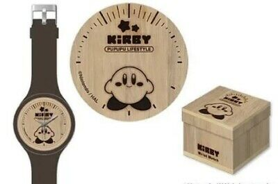 NEW Prize Nintendo Kirby of the Stars PUPUPU Wrist Watch Clock Woody JPN F/S