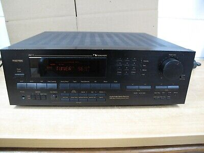 Nakamichi AV-1 Excellent Working Condition! Stereo Receiver