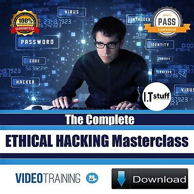 The Complete Ethical Hacking Masterclass - training videos