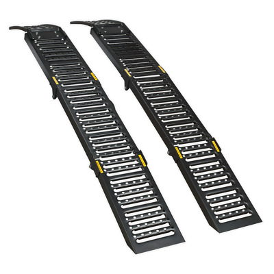 Sealey Steel Folding Loading Ramps 500kg Capacity per Pair - FCR500