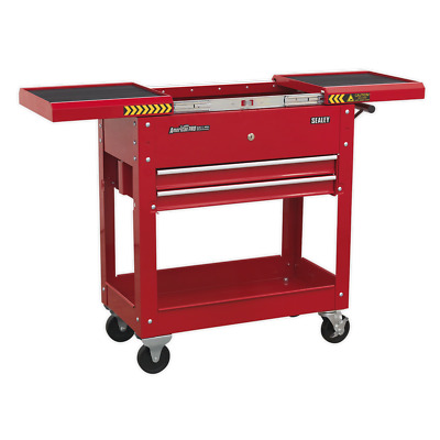 Sealey Mobile Tool & Parts Trolley - Red - AP705M