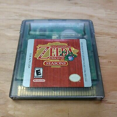 Legend of Zelda: Oracle of Seasons (Nintendo Game Boy Color, ) Clear Authentic