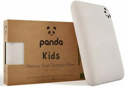 Panda Kids Memory Foam Bamboo Pillow (4+ Years) Brand New
