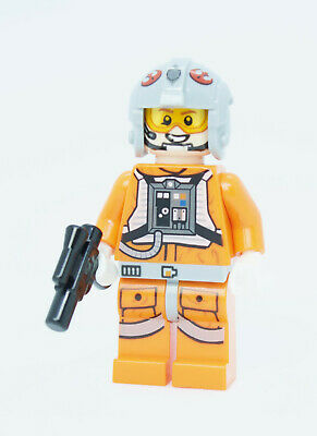 ☀️NEW LEGO MINIFIG Light Blusih Gray Pipe Wrench City Construction Worker Tool