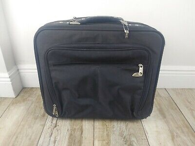 """Samsonite Rolling Laptop Carry On Briefcase Mobile Office Organizer Bag 17""""x14"""""""