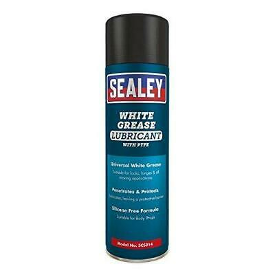 Sealey White Grease Lubricant 500ml Pack of 6 - SCS014