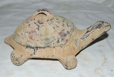 China Ancient Tomb Burial Calligraphy Tool Clay Ink Stone Tortoise Shape Style 2