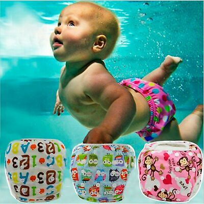 Baby Swim Diaper Waterproof Adjustable Cloth Diapers Pool Pant Swimming Reusable