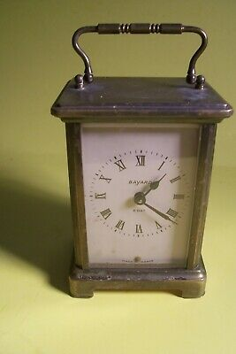 Antique Bayard Duverdrey & Bloquel  8 Day 7 Jewels Carriage Clock, L-E51