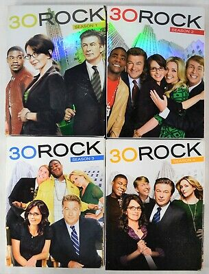 30 Rock DVD Seasons 1 2 3 4 Lot 1-4 Complete First Second Third Fourth Season