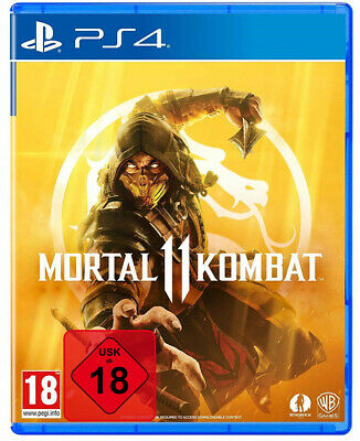PS4 Mortal Kombat 11 UNCUT + Shao Kahn DLC NEU&OVP Playstation 4