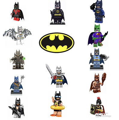 BM004AE Lego Custom Evil Batman Custom Minifigure with Armor Weapons /& Sword NEW