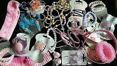 Joblot Of Younger Childrens Jewellery And Hair Accessories 3 = 5 Yrs