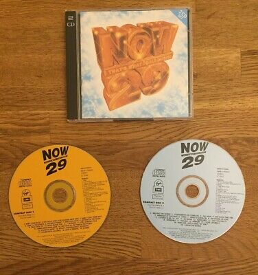 NOW THATS WHAT I CALL MUSIC CD 29 2 disc