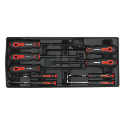 Sealey Tool Tray with Scraper & Hook Set 9pc - TBT23