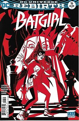 Batgirl #16 Joshua Middleton VARIANT Cover | NM | Nightwing | Mad Hatter | DC