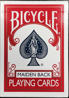 Marked Maiden Back Red Bicycle Playing Cards Magic Trick Poker Size Deck USPCC