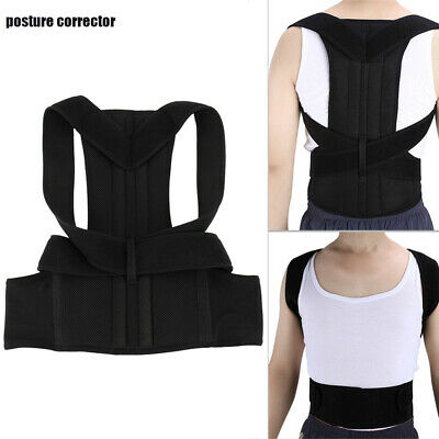 Posture Clavicle Support Corrector Back Straight Shoulders Brace Strap Correct!!