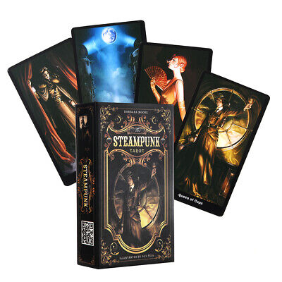 The Steampunk Tarot Cards Deck Game 78 Cards