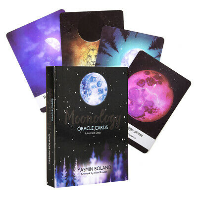 Moonology Oracle Cards: A 44-Card Deck and E-Guidebook Tarot Divination