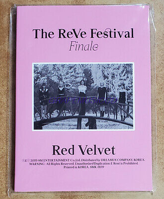 RED VELVET The ReVe Festival Finale SMTOWN OFFICIAL GOODS POSTCARD BOOK SEALED