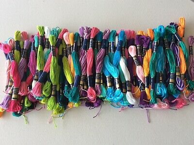 Mixed Lot Of  Perle Cotton Skeins 105
