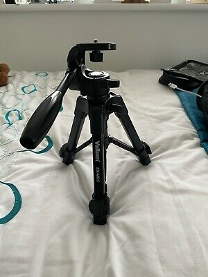 Velbon EX Mini tripod with pan and tilt head, light weight and in carry-bag