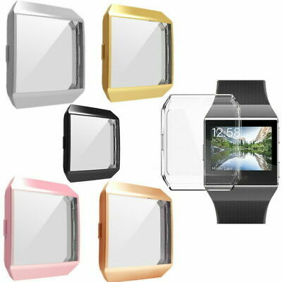 Screen Protector Protective Case Cover For Fitbit Ionic Smart Watch Accessori lj