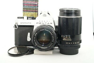 Pentax Spotmatic SP 35mm SLR Film Camera w/ 50mm 1.4 lens and more Overhauled JP