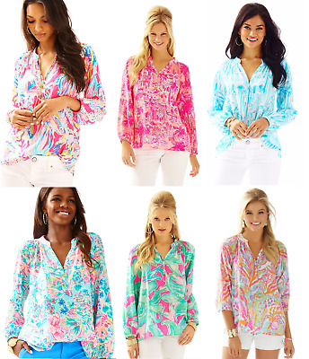 Printed Multiple Collections Sale! New Authentic Lilly Pulitzer Elsa Top