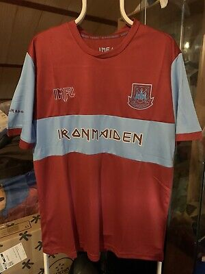 Camiseta Futbol West Ham United Iron Maiden Limited Edition