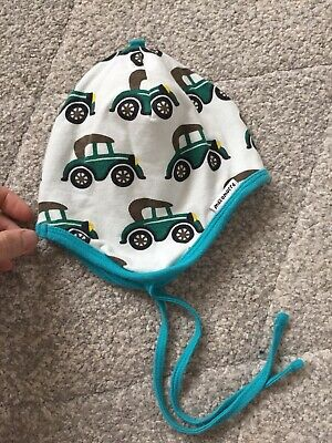 Maxomorra Baby Helmet Hat Retro Cars Size 44-46 Boy Unisex Scandi