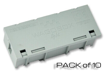 Wago 51257303 PACK of 10 WAGOBOX Light Multi-Purpose Junction Box Grey