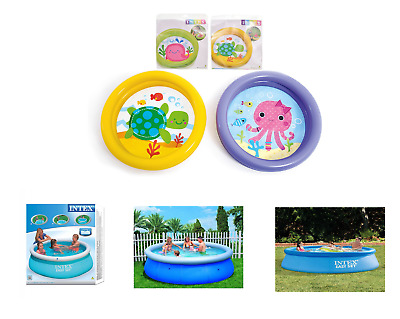 Small And Large Paddling Garden Pool Kids Fun Family Swimming Outdoor Inflatable
