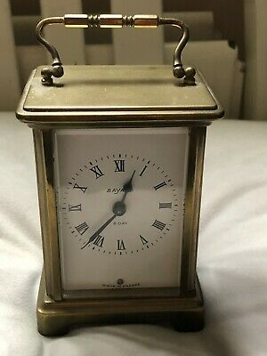 Antique French Duverdrey & Bloquel Bayard 8 Day Carriage clock.
