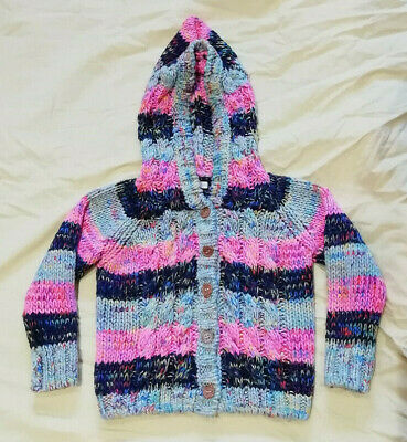 Next Pixi Chunky Knit Cardigan 18-24 Months but fit until 36