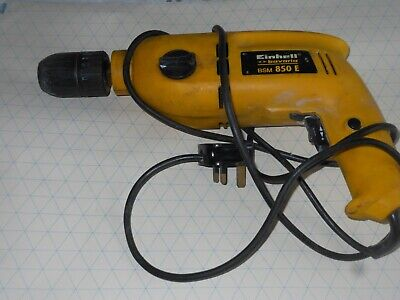 hammer drill 240v used einhell model bsm850e good condition