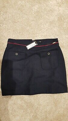 *BNWT* Lovely smart girls Navy skirt M&S Age 14-15yrs