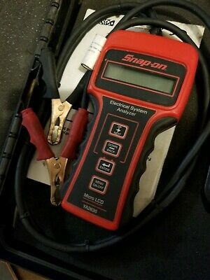 Snap On Ya2636 6 To 36 Volt Battery Tester