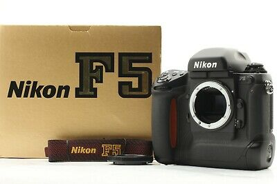 [Mint in Box] Nikon F5 35mm Film Camera Black Body Only from japan #667