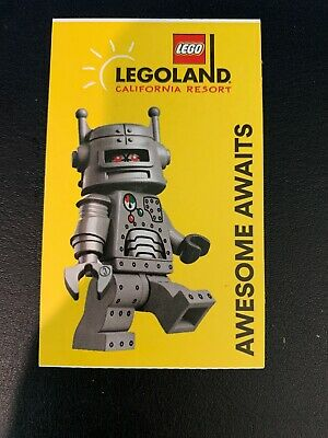 1 Legoland Buddy Pass Ticket Expires 3/31/20 Fast Shipping!!
