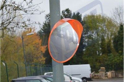 Wide Angle Convex Shatterproof Outdoor Road Driveway Mirror Maypole Mp8325