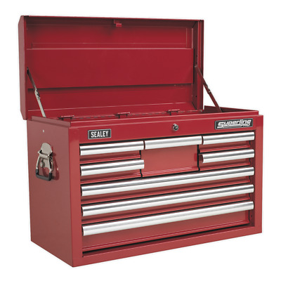 Sealey Topchest 8 Drawer with Ball Bearing Slides - Red - AP33089