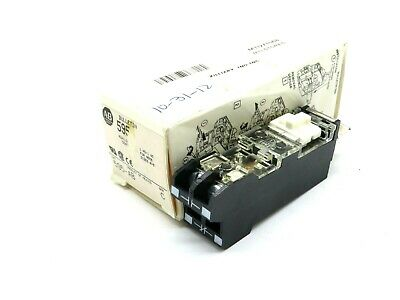 New Allen Bradley 595-Ab Auxiliary Contact Series C 595Ab